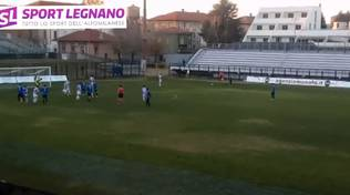 Gol Legnano-Fenegrò 0-1
