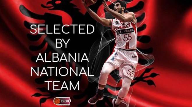 Rei Pullazi convocato con la Nazionale albanese