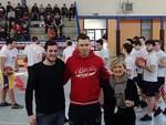 La star dell'Olympia Dairis Bertans al Maggiolini