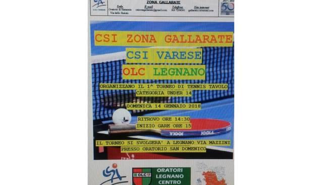 Primo Torneo Tennistavolo OLC