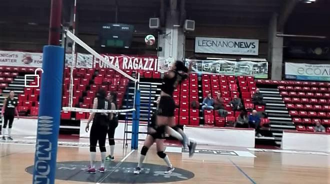 Amichevole SAB Volley Legnano - Savallese Millenium Brescia 1-3