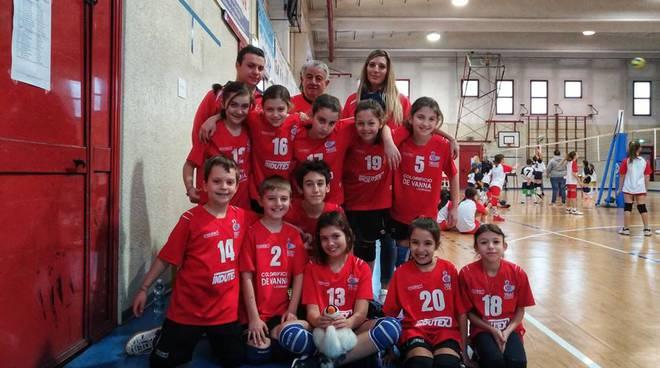 Campionato  Fipav  Minivolley a Villacortese