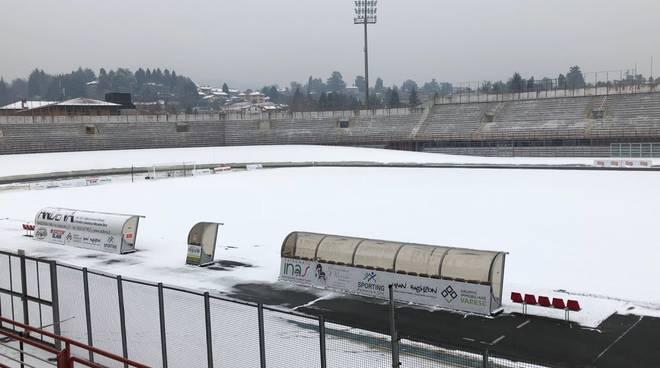 Campo innevato - Varese