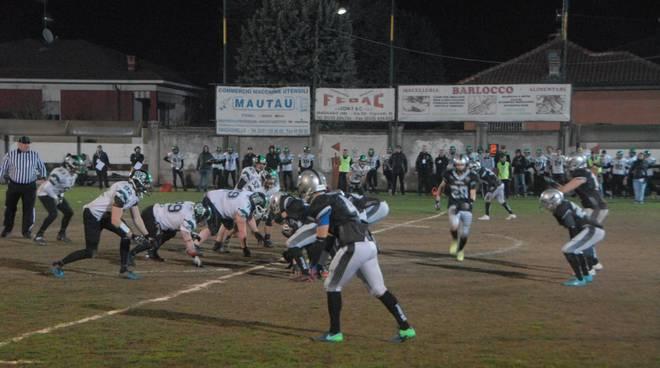 Frogs Legnano-Hammers Monza Brianza 0-52