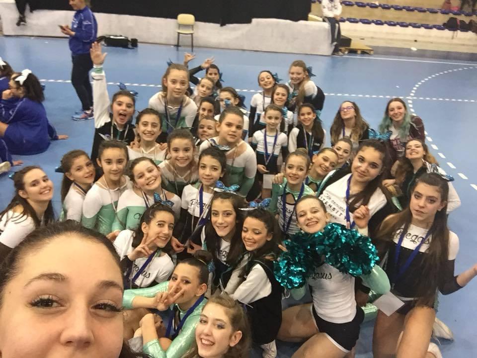 Intensity Elite Cheer and Dance Canegrate ai Campionati Italiani Cheerleading e Cheerdance 2018