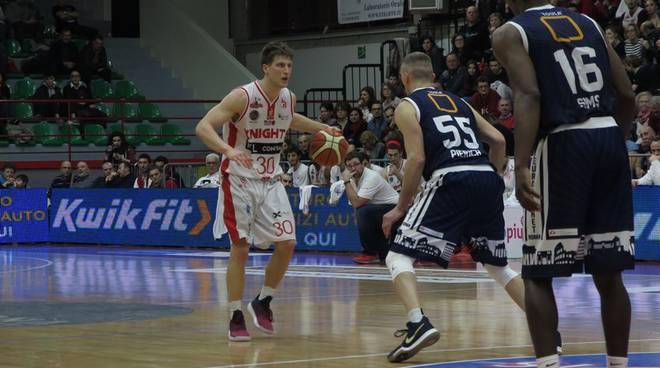 Knights Legnano-Eurobasket Leonis Roma 99-85