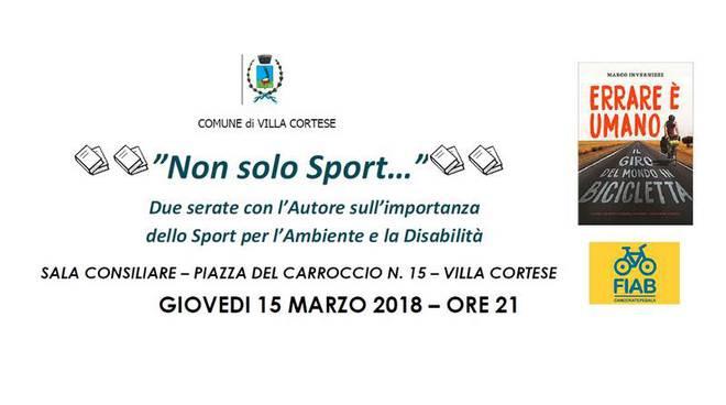 """""""Non solo sport"""" - Villa Cortese"""