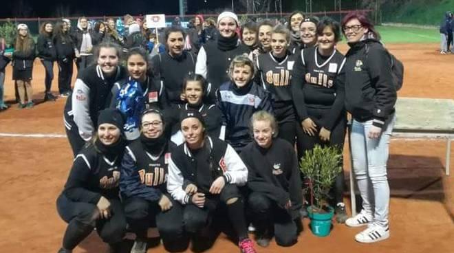 Bulls Rescaldina vincitrici del Torneo di Softball Under 22 di Macerata
