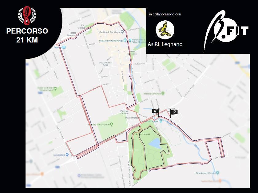 Correre x Legnano 2018 - I percorsi
