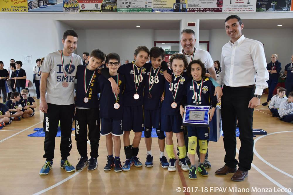 Finali territoriali volley maschile Under 13 3x3 Legnano