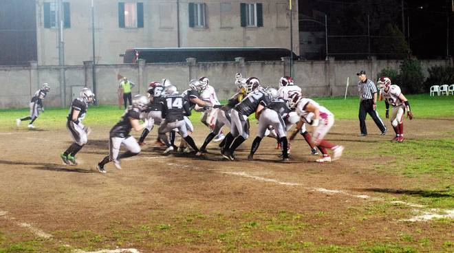 Frogs Legnano - Hogs Reggio Emilia 0-49