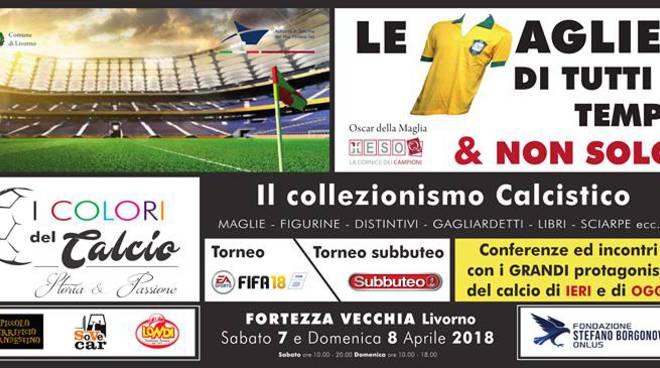 I colori del Calcio in mostra a Livorno