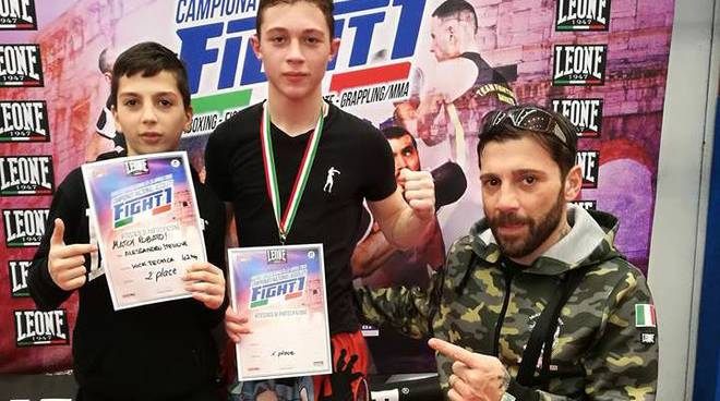Shark Fighter Team - Campionati Italiani Assoluti Fight 1 - Roma