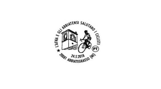 Giro d'Italia 2018 - Tappa Abbiategrasso - Annullo filatelico