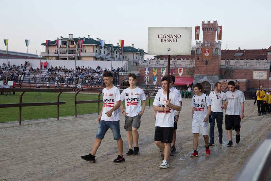 La parata delle Associazioni Sportive
