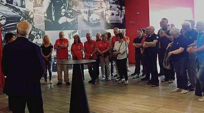 Turisti tedeschi al Museo Fratelli Cozzi