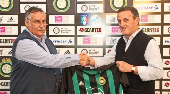 Salvatore Asmini e Fiorenzo Roncari Castellanzese
