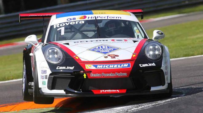 Alessio Rovera alla Carrera Cup Italia a Monza