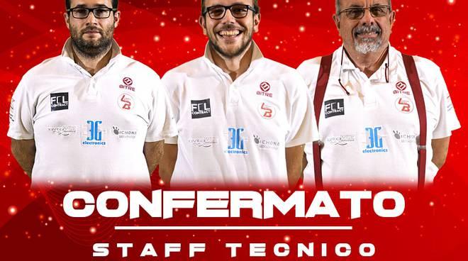 Confermato lo staff tecnico 2018/19