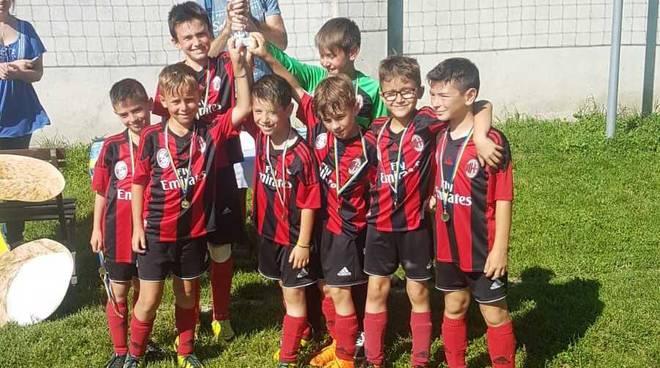 I 2009 del Canegrate vincono il Torneo di Pogliano Milanese