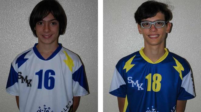 la Kolve Volley Legnano manda due atleti al trofeo delle provincie