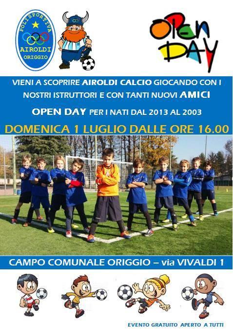 Open Day Airoldi Calcio Origgio