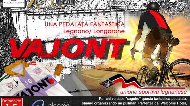 Pedalata per il Vajont da Legnano a Longarone