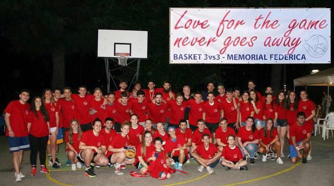 Torneo basket 3x3 Memorial Federica Banfi 2018