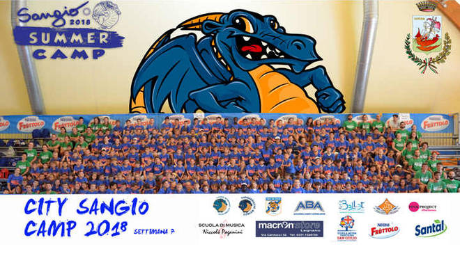 City Sangio Camp 2018, record di iscritti