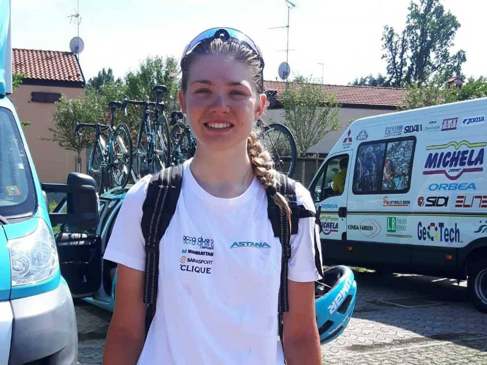 Giro d'Italia femminile - la parabiaghese Martina Alzini (Astana)