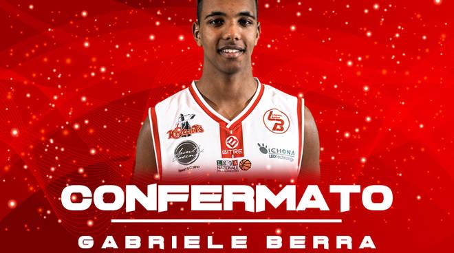 Il giovane Gabriele Berra resta in Knights