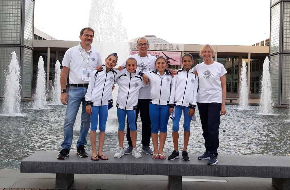 La Ginnastica Perseverant di Legnano alle finali nazionali di Rimini