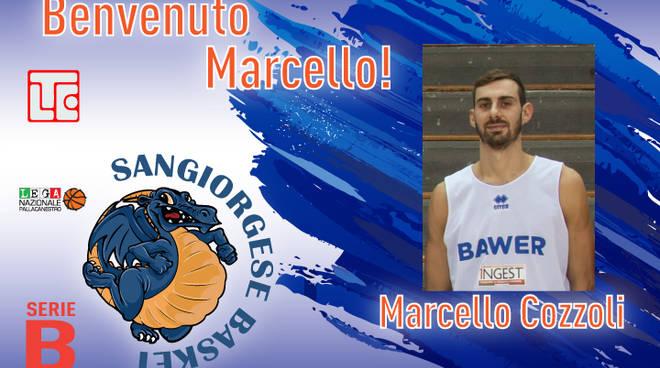 Marcello Cozzoli alla Sangiorgese Basket