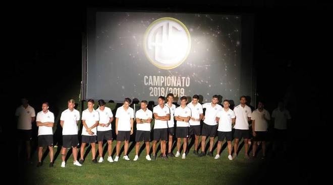 Presentazione A.C. Legnano - Stadio Mari - 28/07/18