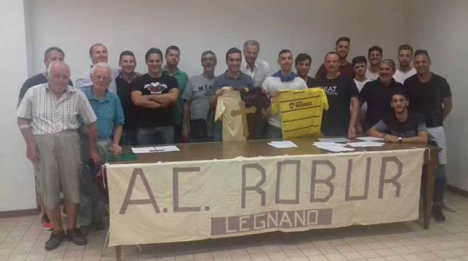 Presentazione A.C. Robur Legnano