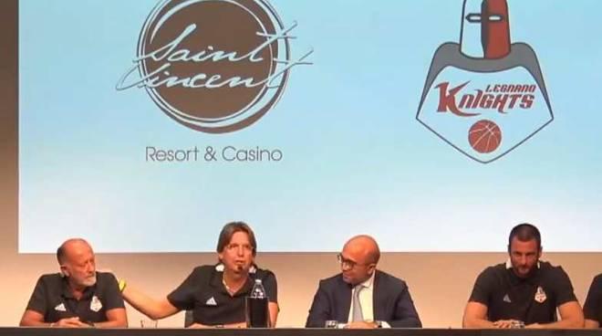 Conferenza Stampa Knights Legnano in Valle d'Aosta