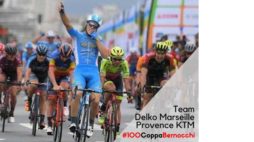 Delko-Marseille Provence-KTM alla Coppa Bernocchi 2018