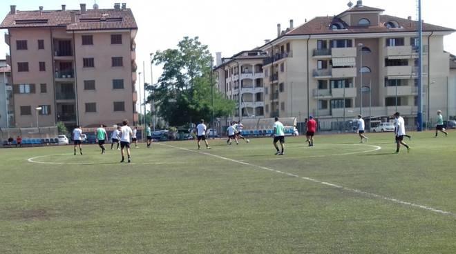 Gli allenamenti del Legnano al campo di Via Parma