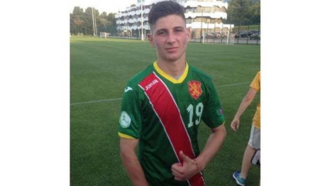 Ivan Trenchev convocato nell'Under 19 della Bulgaria