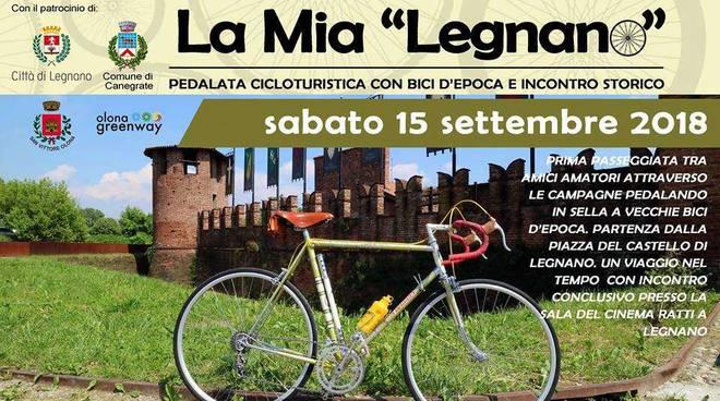 """""""La mia Legnano"""", pedalando per il legnanese su bici d'epoca"""