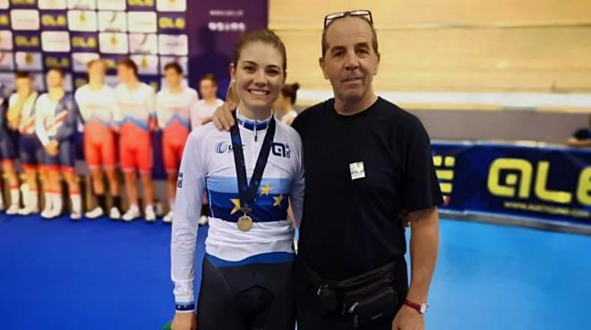 Medaglia d'oro a Martina Alzini agli Europei
