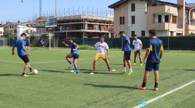 Primo allenamento dopo la pausa estiva per il Sedriano