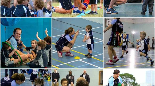 Rugbytots, a settembre ed ottobre Open Day con il Rugby Parabiago