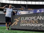 Simone Cairoli agli Europei di Atletica di Berlino