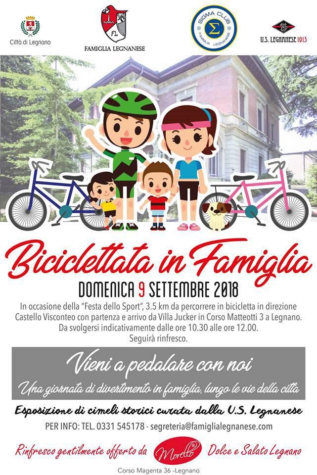 Biciclettata in famiglia