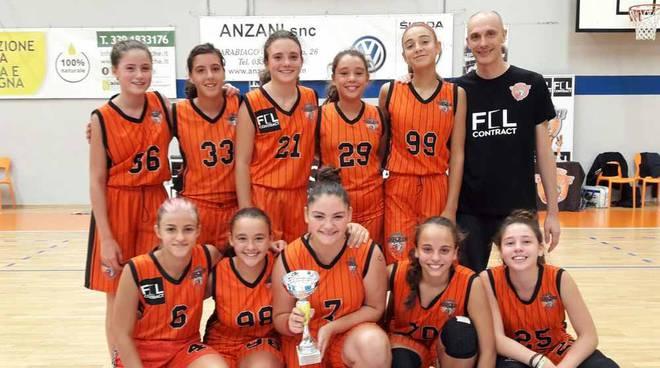 Bulldog Basket Canegrate Under 16 femminile