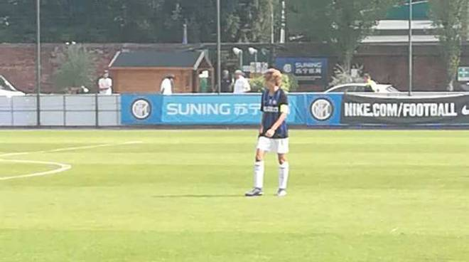 Il legnanese Capitan De Milato guida l'Inter alla vittoria