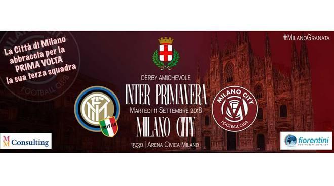 Milano City FC contro Inter Primavera all'Arena