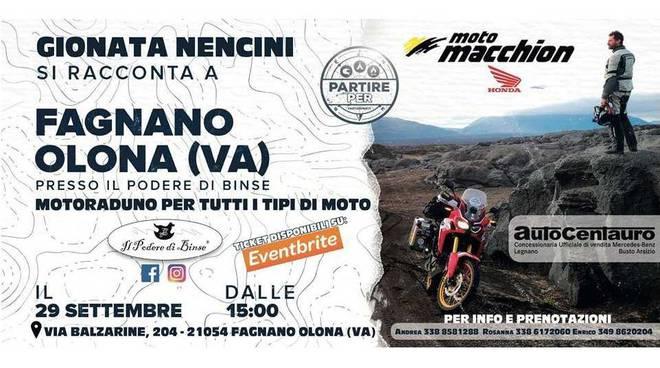 Motoraduno a Fagnano Olona