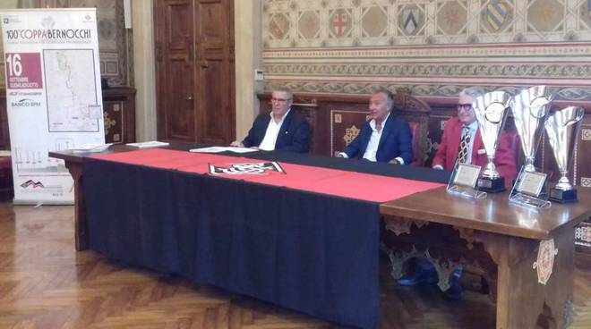 Presentazione 100a Coppa Bernocchi